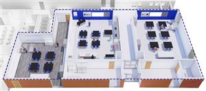 3D FCS Art Floor Plan